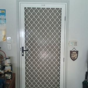 Security Grille Heavy Diamond Design